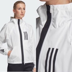 Adidas W.N.D. Jacket white and black